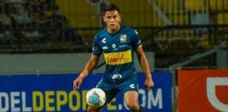 Denil Maldonado, defensa central del Everton