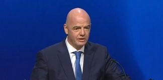 El presidente de la FIFA, Giagi Infantino, apoya totalmente a la UEFA