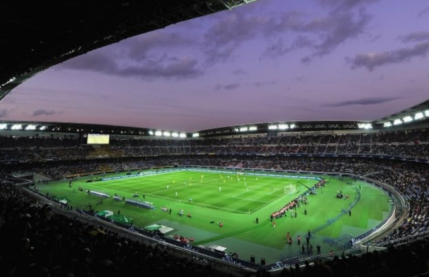 El estadio de Yokohama es uno de los tradicionales de Japón.