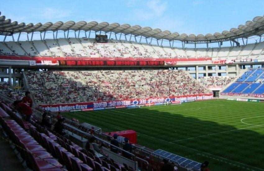 El estadio de Kashima es uno de los más lindos de Japón.
